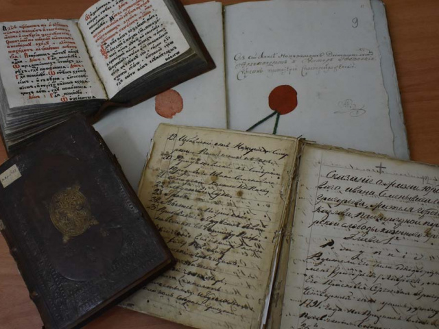 История козловских церквей в рукописях и книгах из фондов Мичуринского краеведческого музея