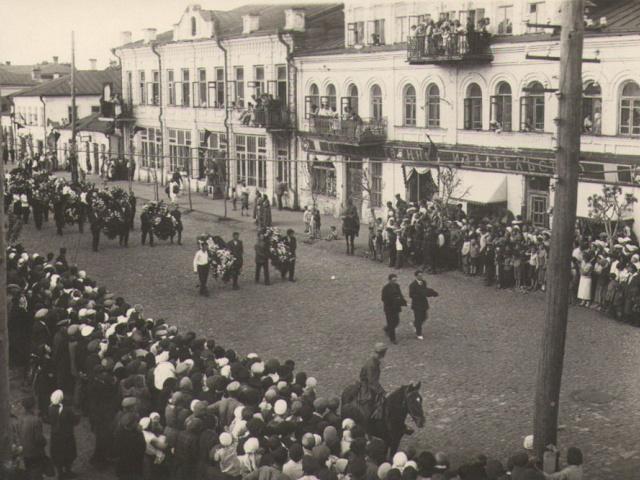 Похороны И.В. Мичурина (Как Мичуринск прощался с И.В. Мичуриным)
