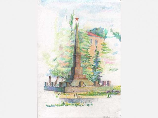 Немова Анна - Памятник воинам
